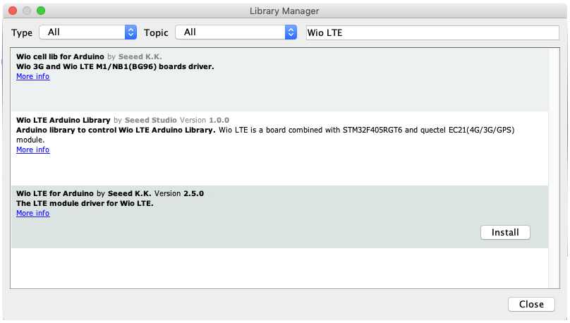 Using Twilio M2M Commands with the Wio LTE from Seeed Studio