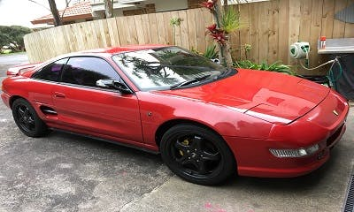 Updated Car to MR2 Turbo 3SGTE