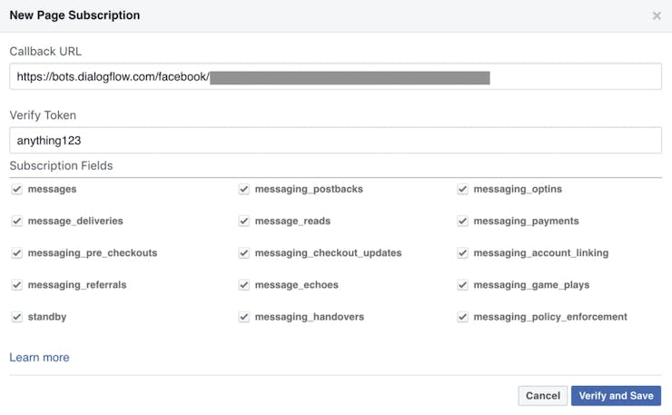 Not all are required, but Dialogflow will take care of the unnecessary ones and send you only the relevant ones