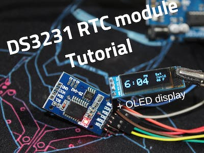 DS3231 RTC Module + OLED Tutorial