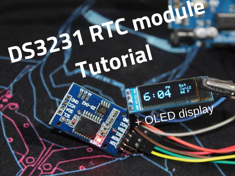 DS3231 RTC Module + OLED Tutorial - Hackster io