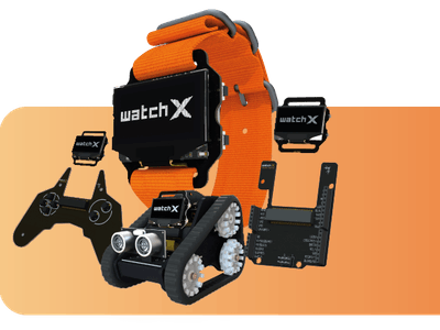 watchX - Hardware Hacker Tools