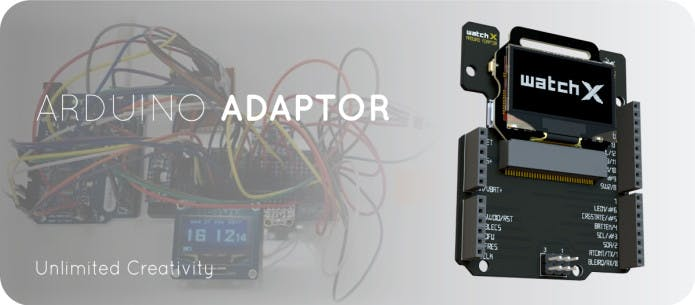 watchX Arduino Adaptor