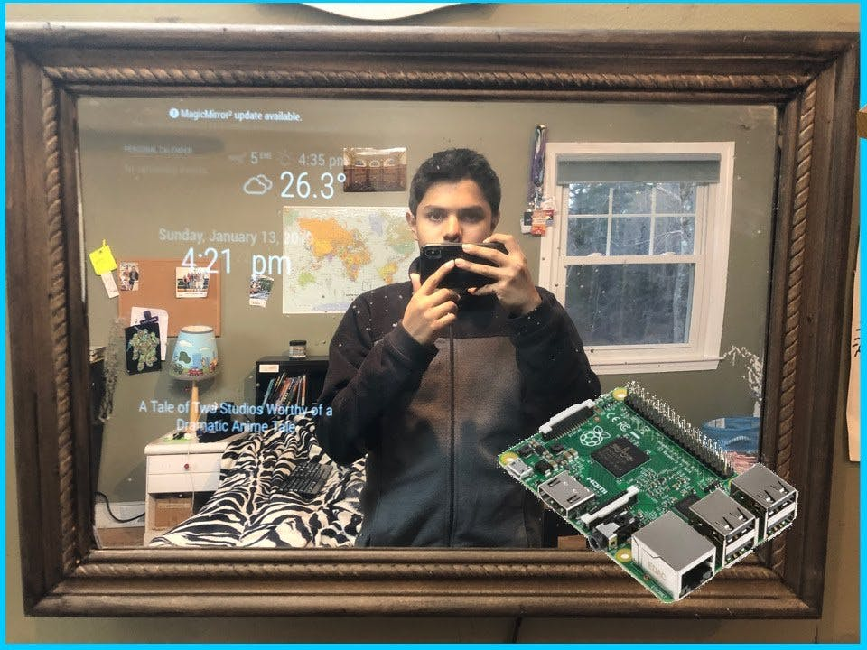 Make Your Own Smart Mirror for Under $80 Using Raspberry Pi