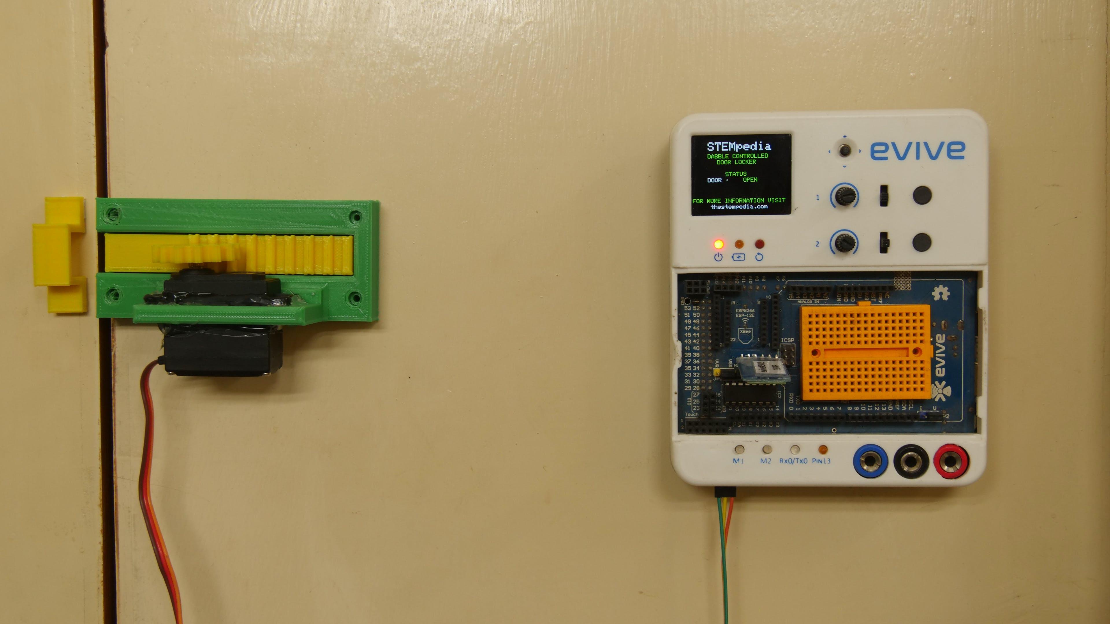 Smartphone Controlled Door Locking System
