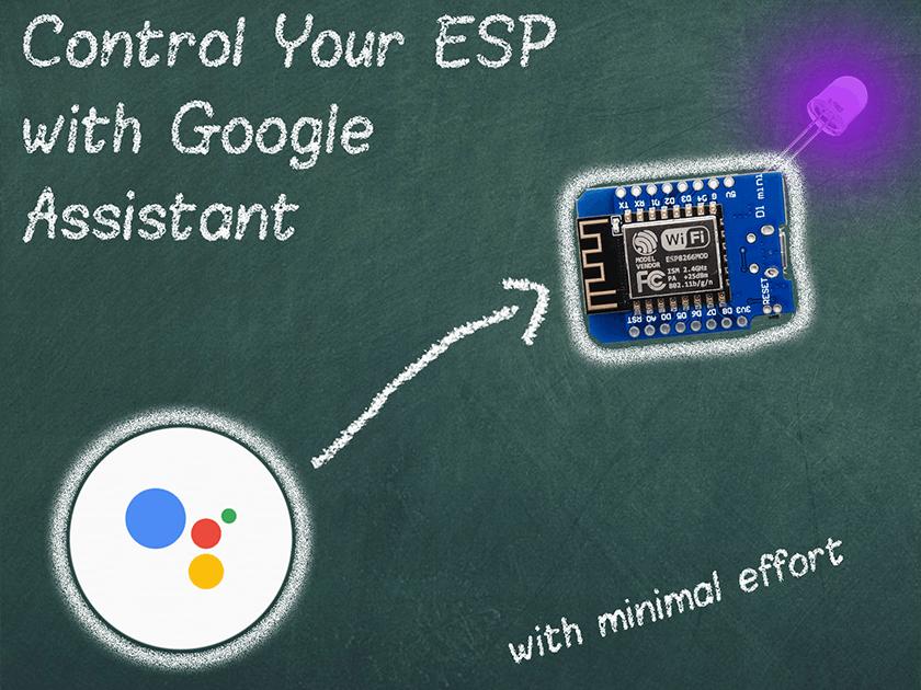 Control ESP by Google Assistant - Hackster io