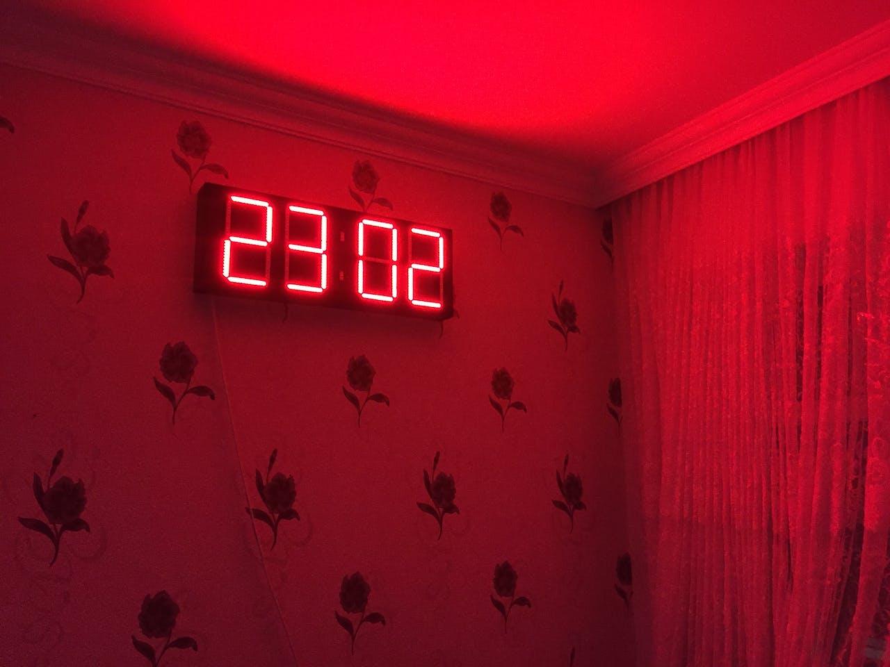 Digital Wall Clock - Hackster io