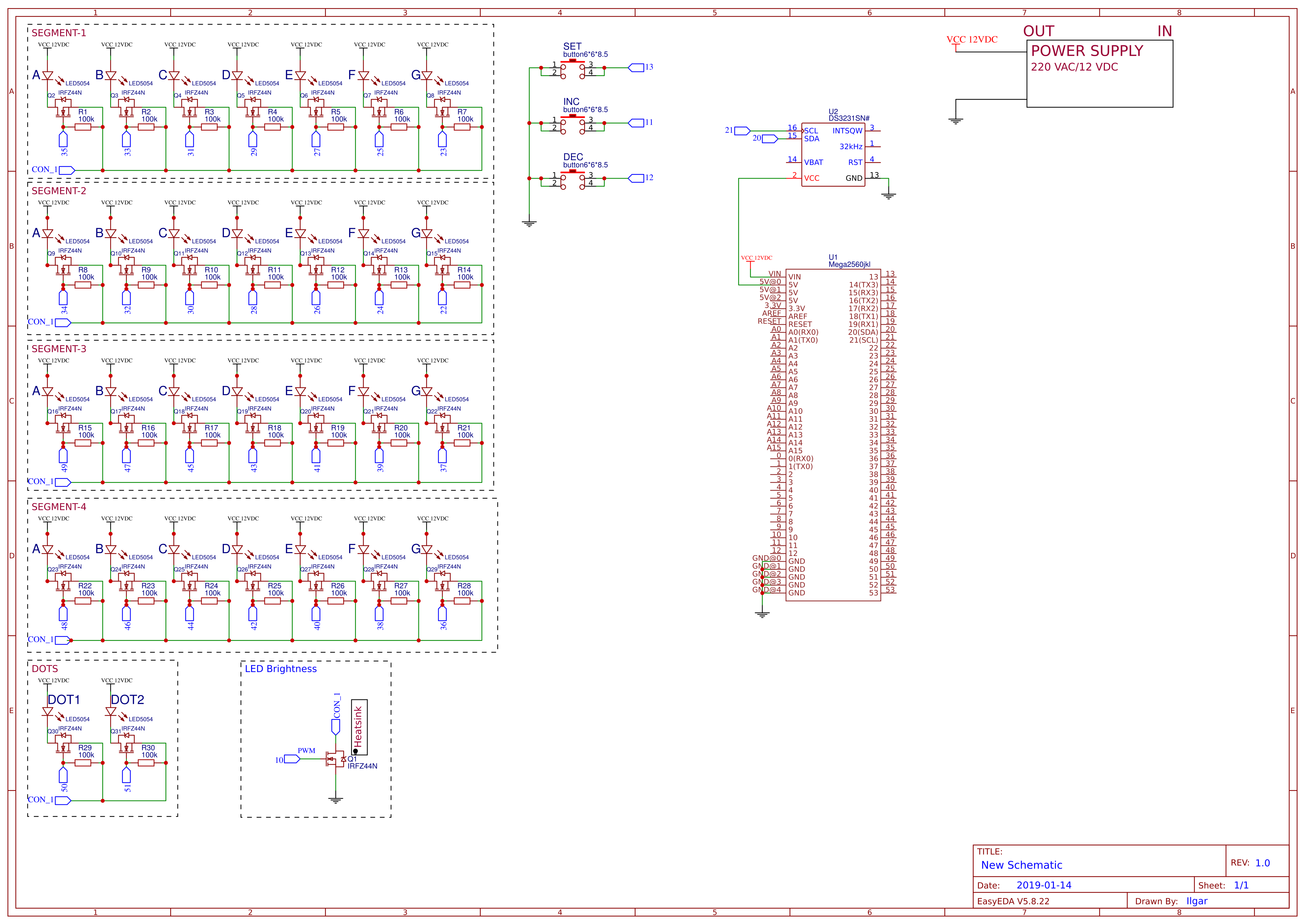 Digital Wall Clock Irfz44n Electronic Components Integrated Circuit Transistor Stk Schematic Sheet 1 20190115113806 C4qar434pk