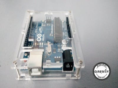 How to Install Acrylic Case for Arduino Uno