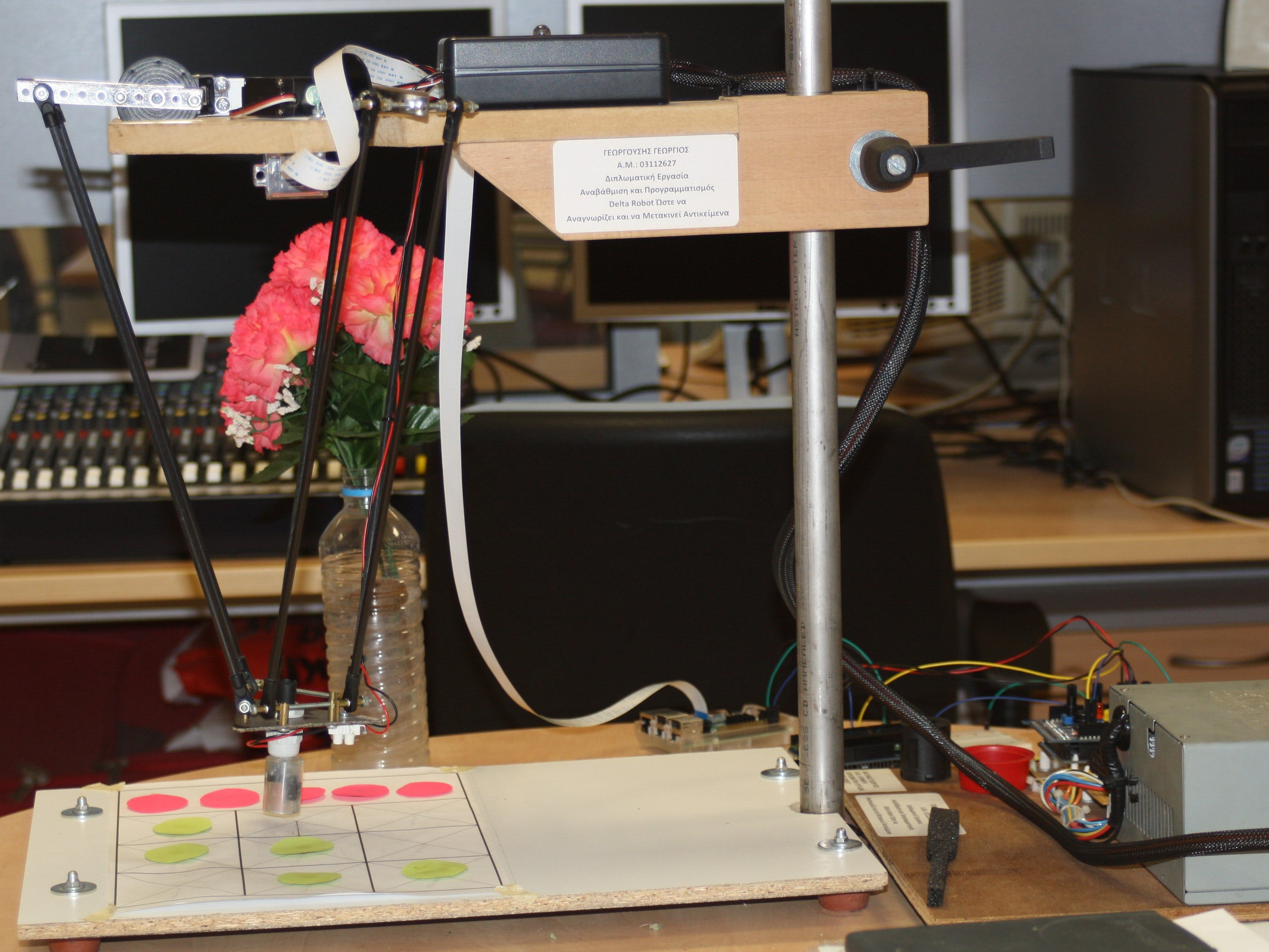 Arduino Controlled Delta Robot