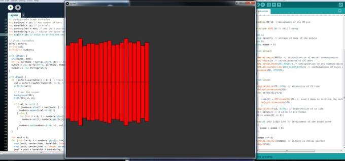 Pmod MIC Audio Visualizer - Arduino Project Hub