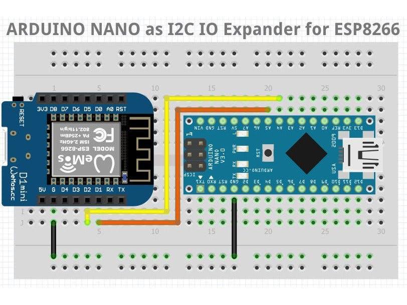 NANO I2C IO Expander