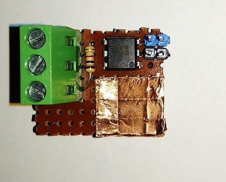 MOSFET driver (top)