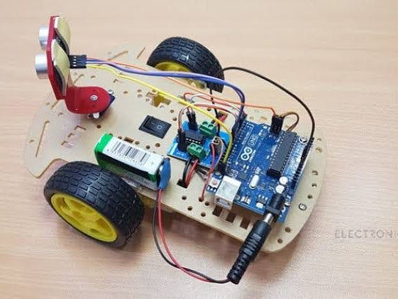 Obstacle Avoiding Robot Using Arduino With Ultrasonic