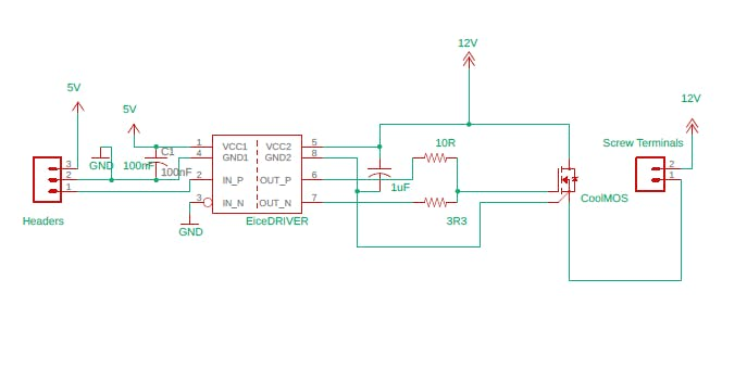 Schematic of the module.
