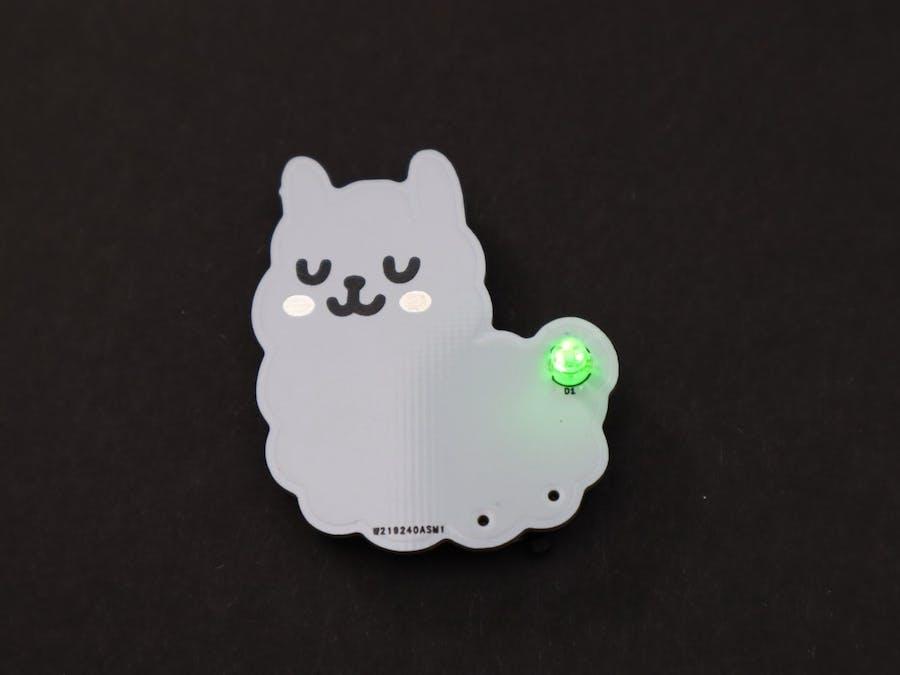 Alpaca Electronic Badge