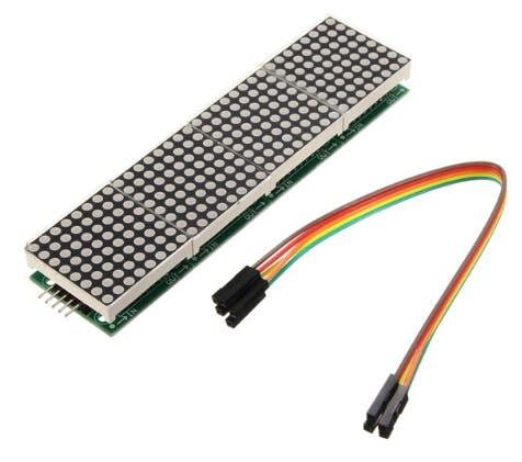 32 x 8 LED Matrix Module with MAX7219