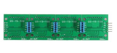 LED Matrix Module - Back View