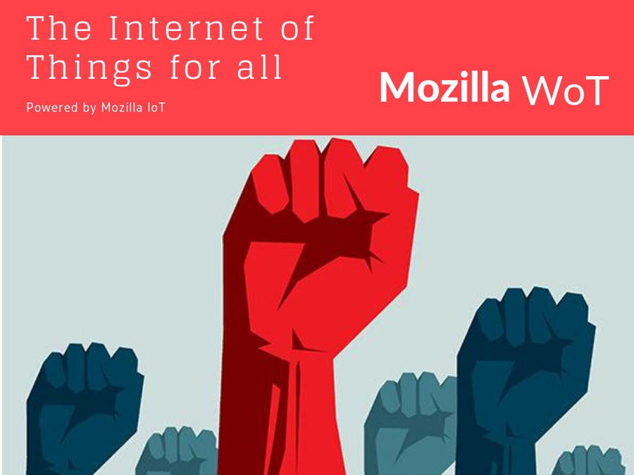 Mozilla IoT WoT Gateway and ESP8266