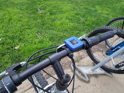 Bike Mounted Journey Tracker