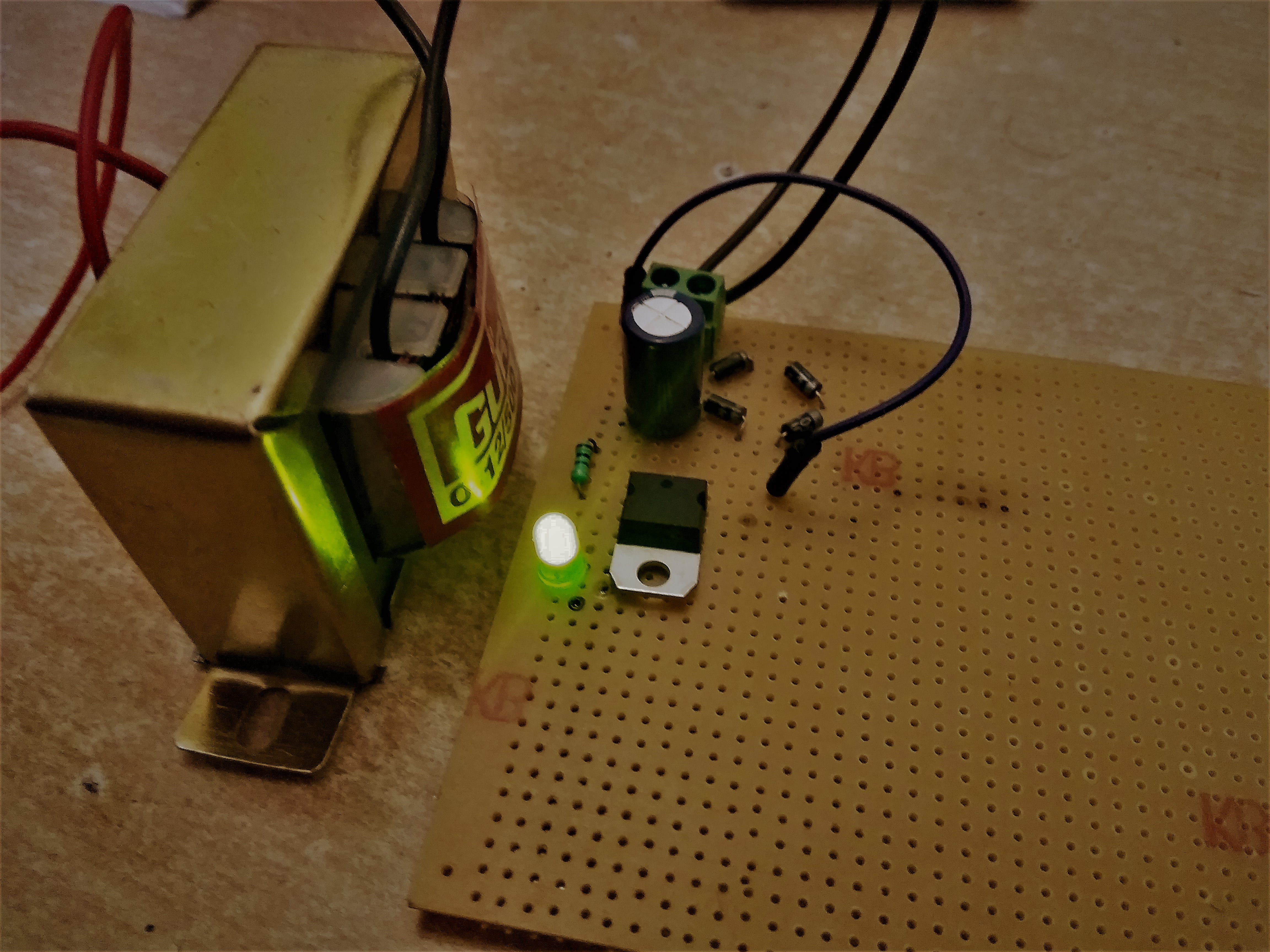 Assembling Power Supply components