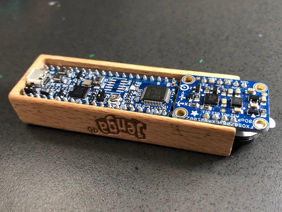 Wooden Tower Motion/Audio Sensor