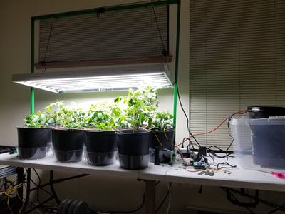 Automatic Indoor Vegetable Garden