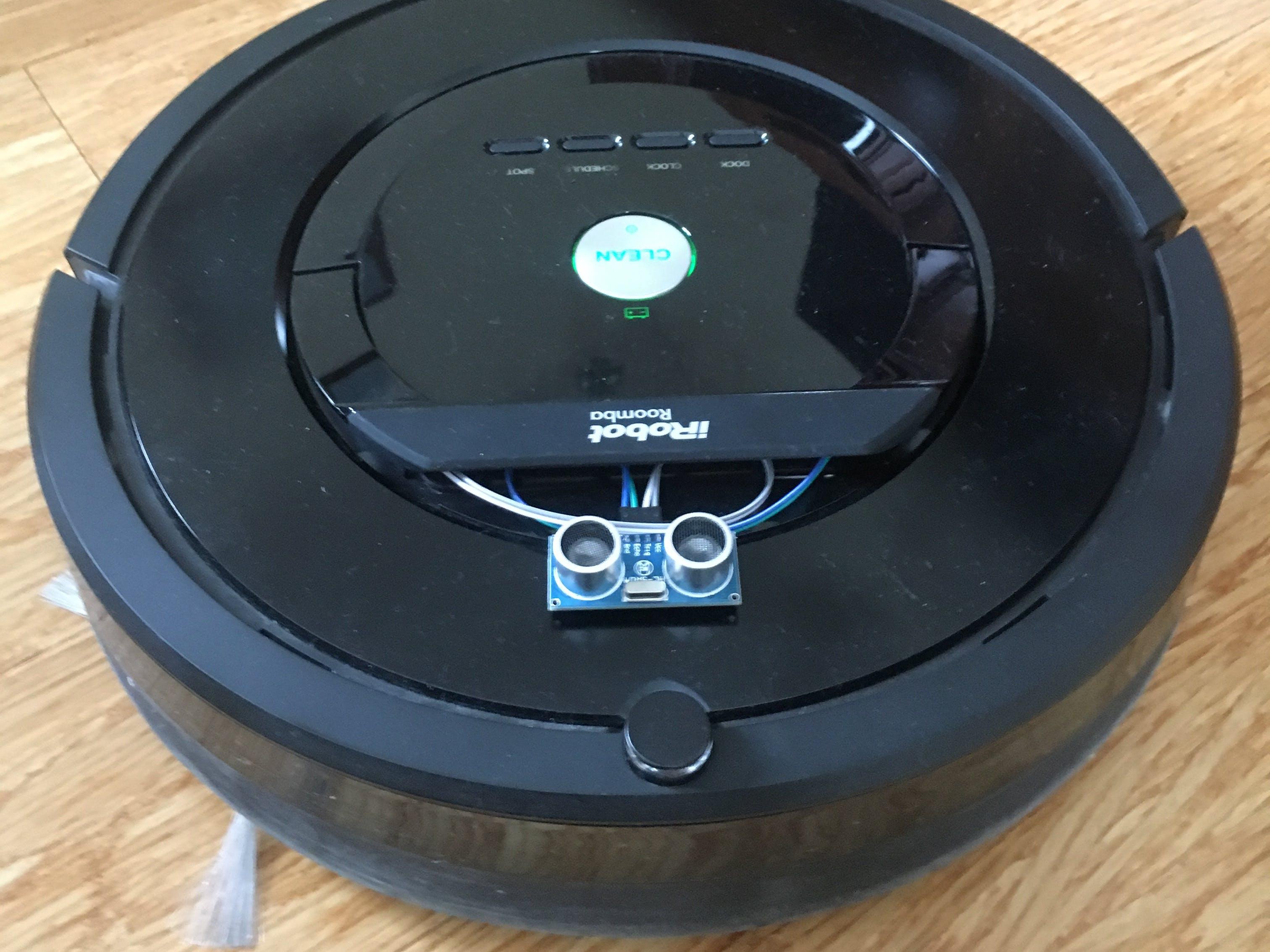 Making Roomba Smarter (800 Series)