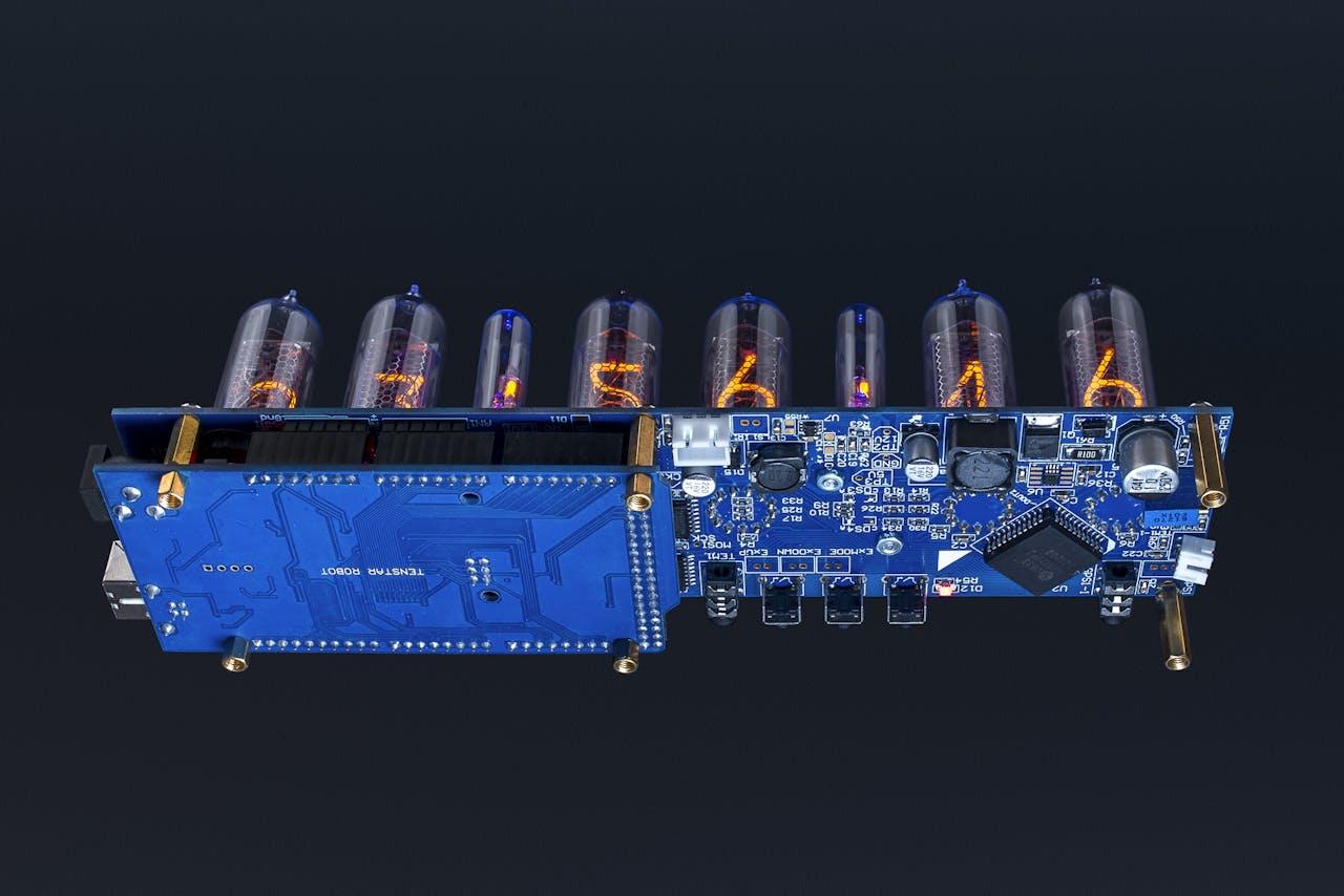 Arduino Shield NCS314 NIXIE Tubes Clock IN-14 - Hackster io