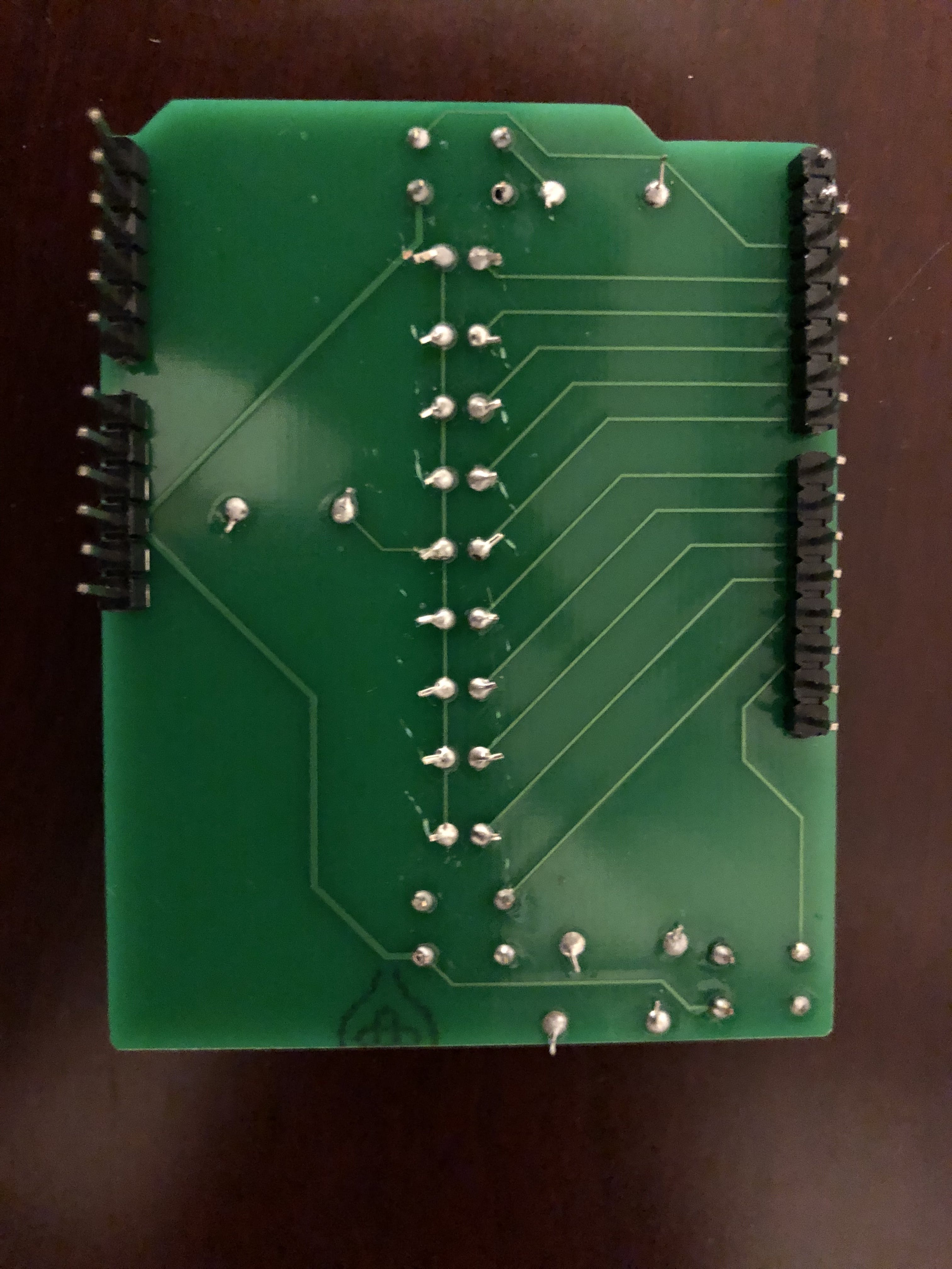 Custom PCB bottom