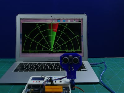 Make a Radar Using Ultrasonic Sensor Using Arduino