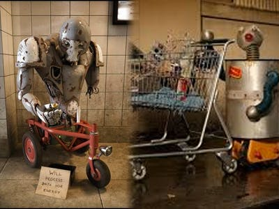 Homeless Robot