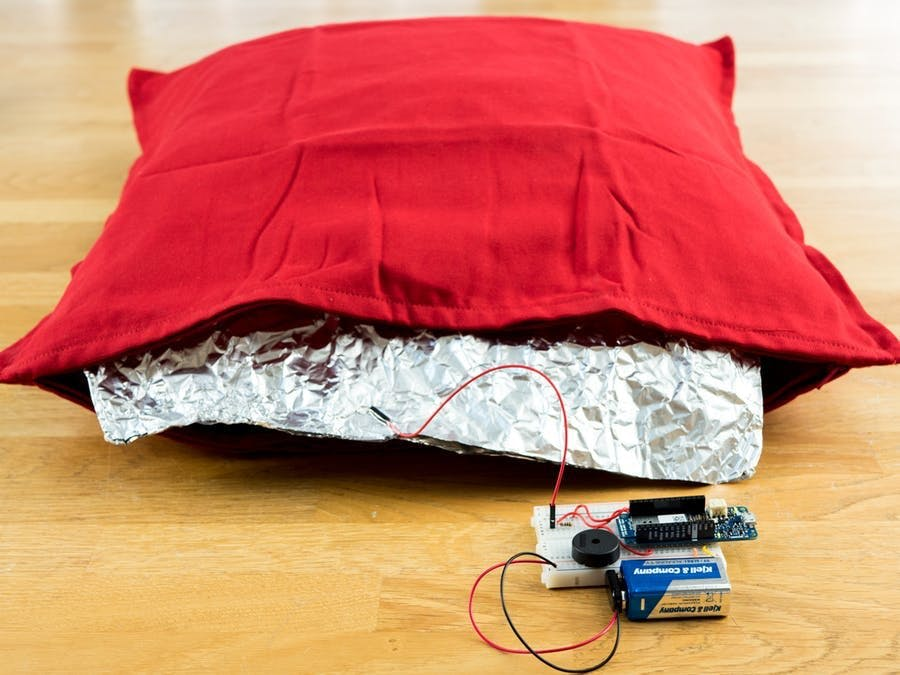 I Love You Pillow with MKR WiFi 1010