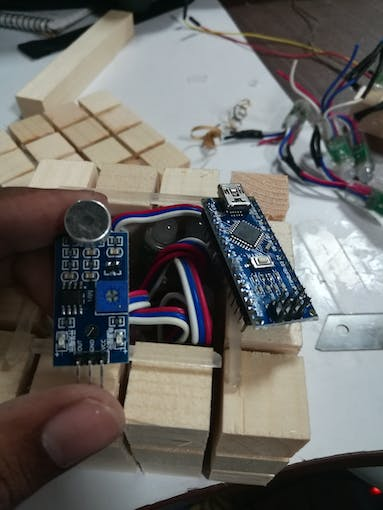 Arduino Nano and mic module