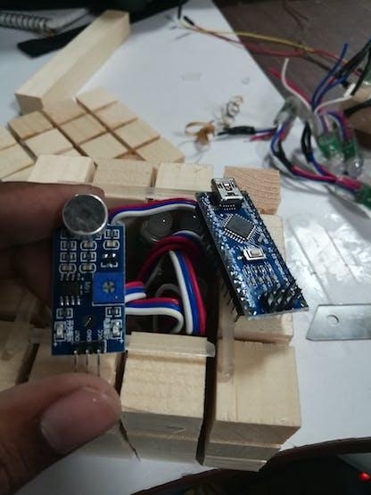 Arduino Nano and mic module