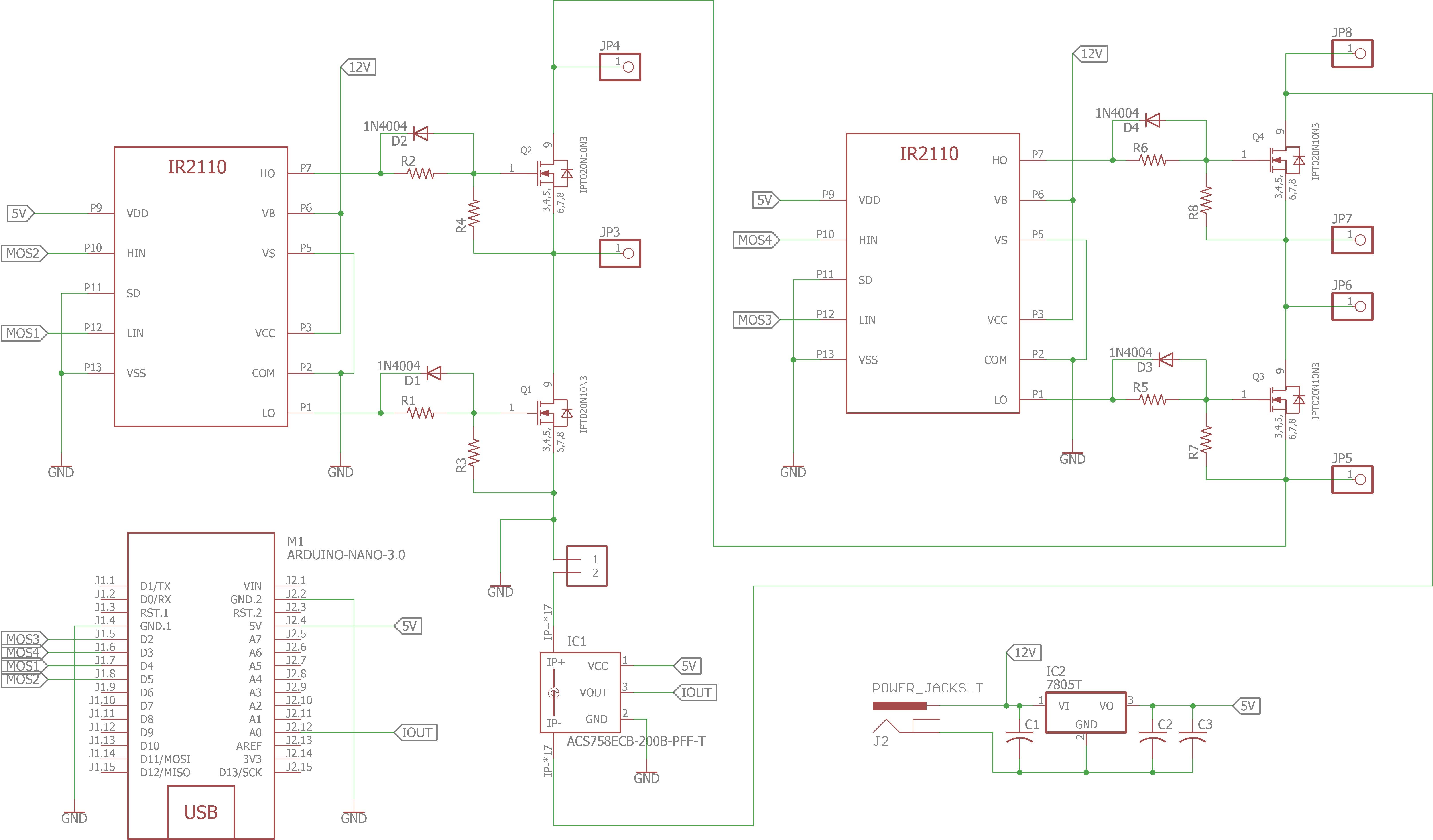 Electronic starter using CoolMOS