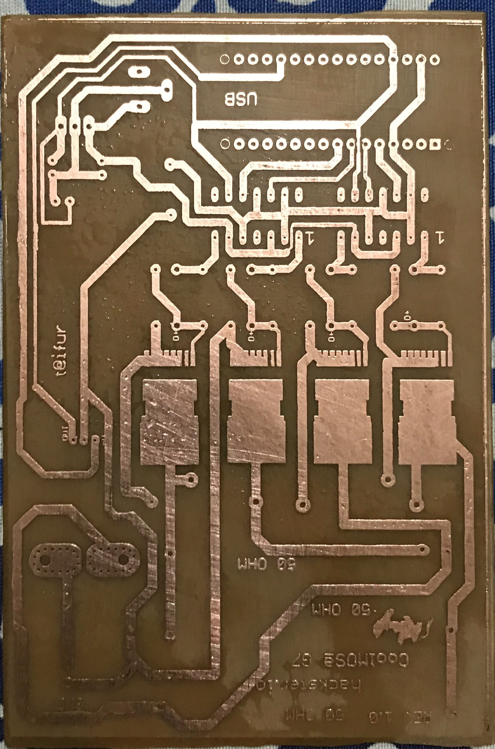 PCB for my starter