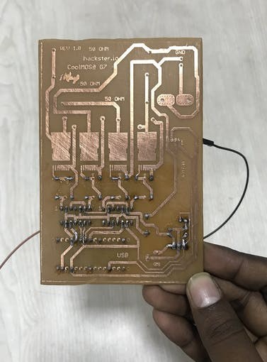 Soldering of mosfet driver