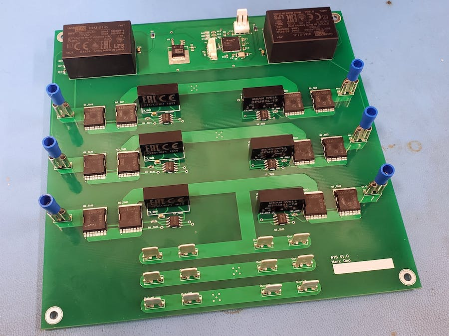 Open Source Automatic Transfer Switch