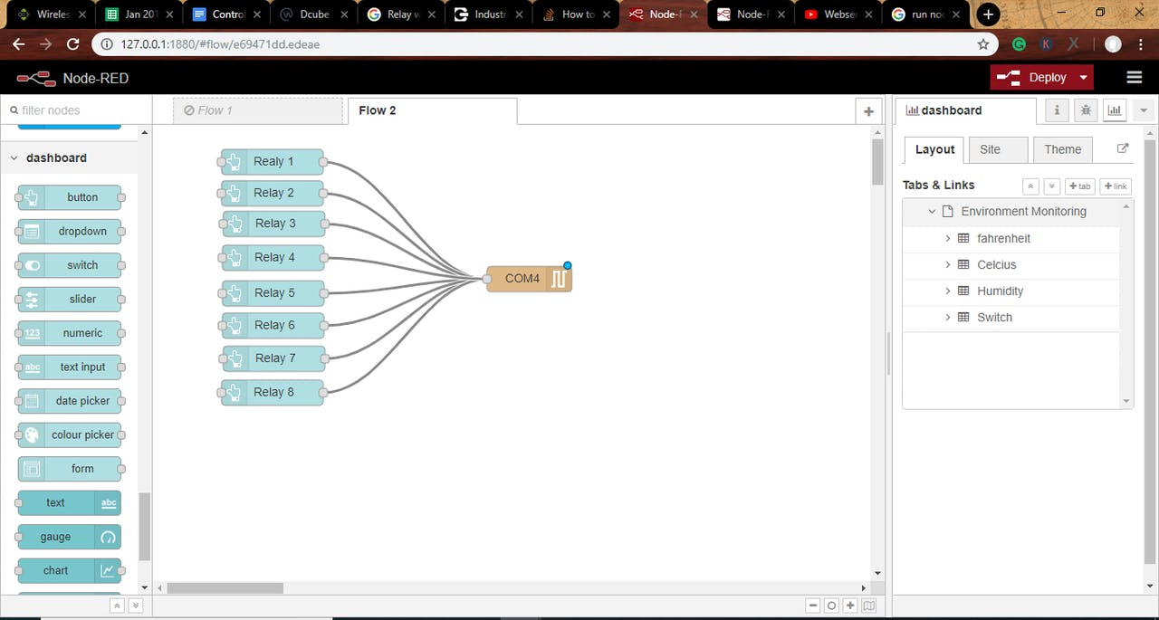 Control I2C Relay Using Node-RED - Hackster io