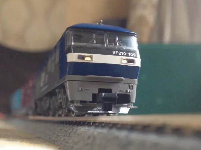 Automated Model Railway Layout with Passing Siding