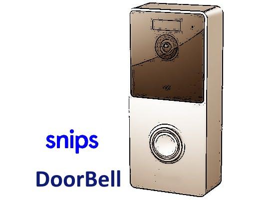 Doorbell & Intercom with Snips Voice Assistant