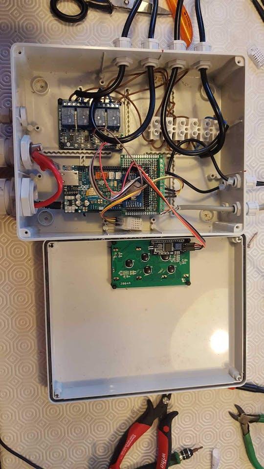 Arduino GrowBox Controller - Hackster io
