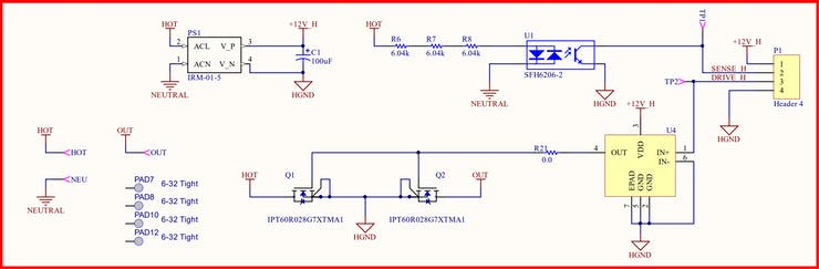 Switching Subsystem Schematic