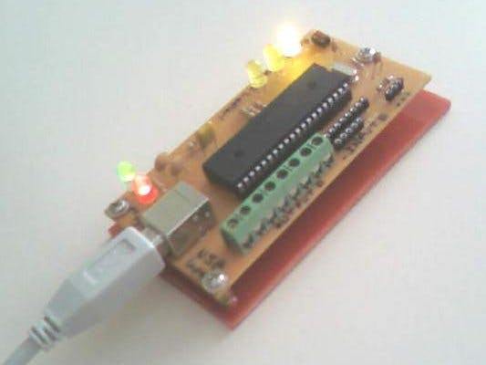 PIC18F4550 Card Control with Visual Basic 6