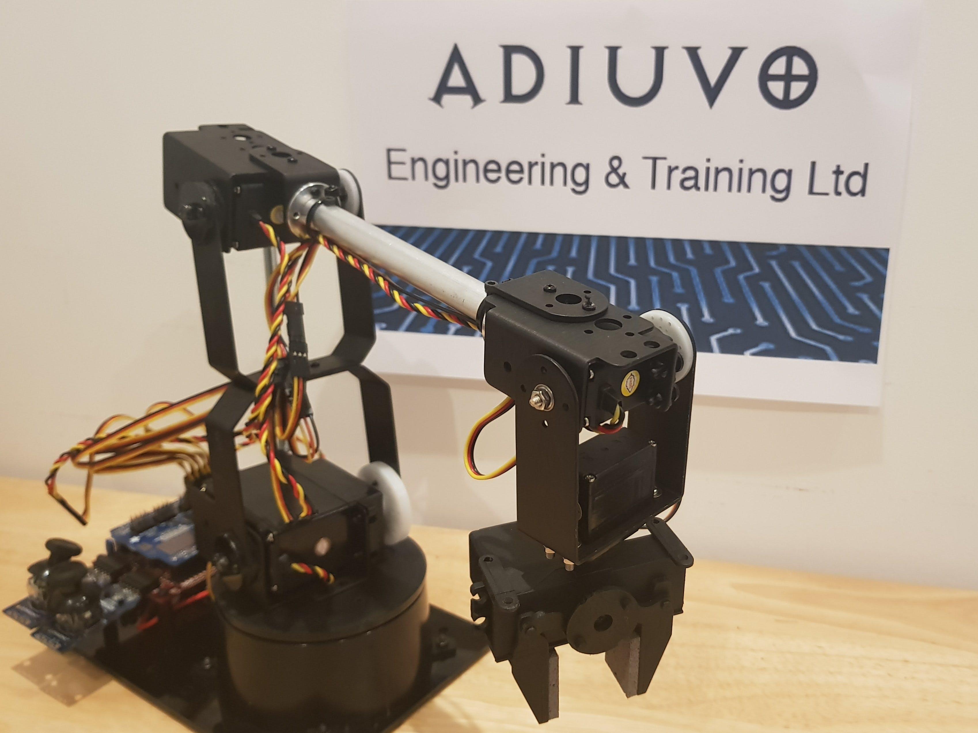 FPGA/SoC Controlled Robot Arm