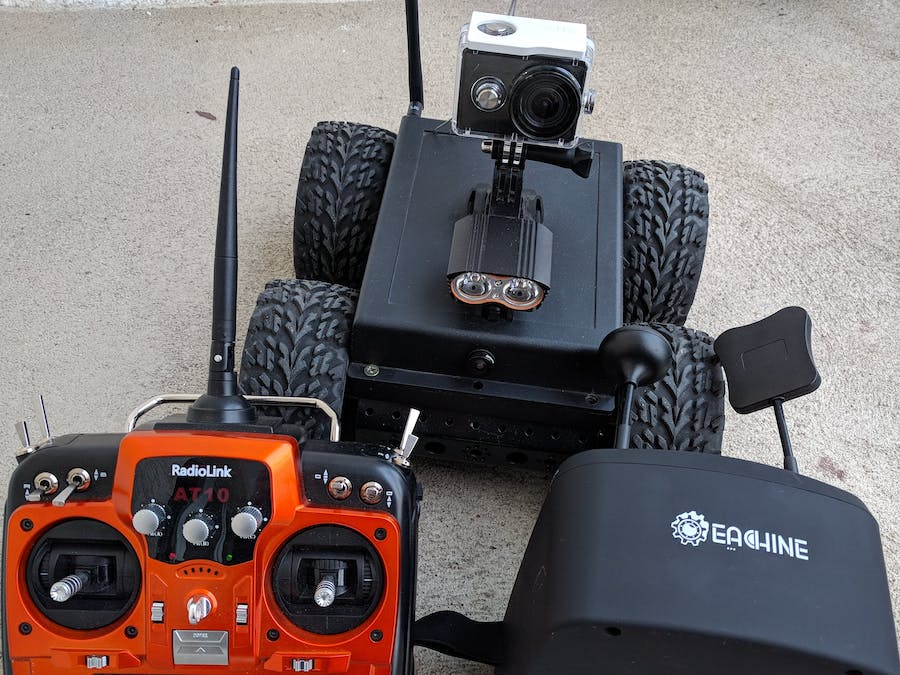 4WD Inspection Robot