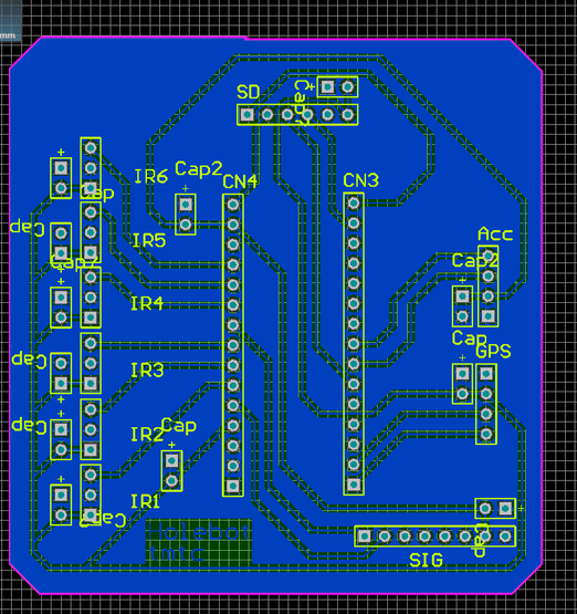 Main PCB schematic