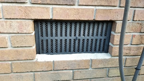 Find an unblocked air-vent