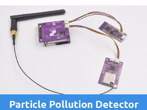 LoRa Particle Pollution Detector